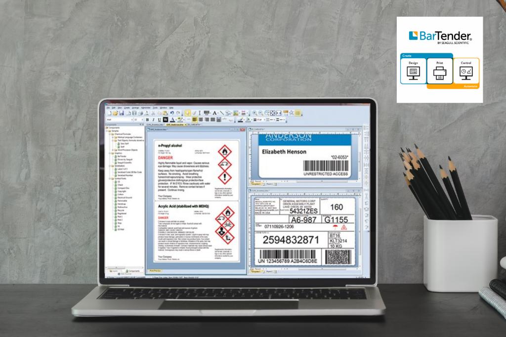 Software de Impressão de Etiquetas